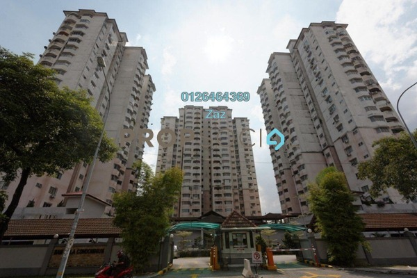For Sale Condominium at BAM Villa, Cheras Freehold Fully Furnished 3R/2B 400k
