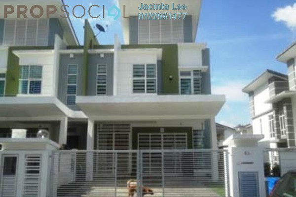 For Sale Semi-Detached at Greenhill Residence, Shah Alam Freehold Semi Furnished 5R/5B 567k