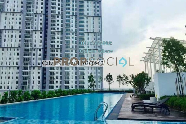 For Sale Condominium at Verdi Eco-dominiums, Cyberjaya Freehold Unfurnished 1R/1B 320k