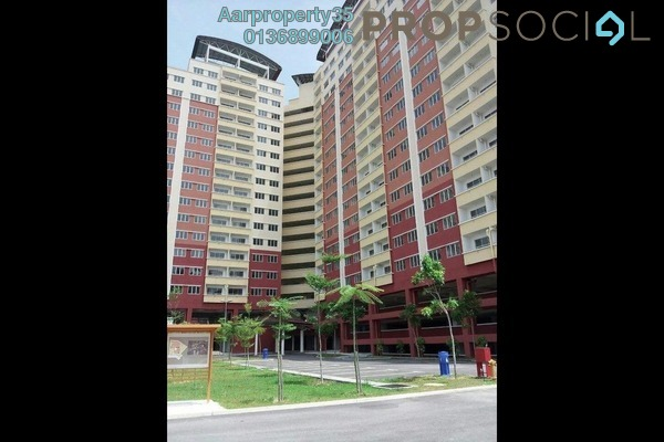 For Sale Apartment at Alam Prima, Shah Alam Freehold Fully Furnished 3R/2B 338k