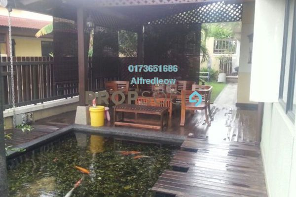 For Sale Terrace at Lagenda 2, Bukit Jelutong Freehold Semi Furnished 4R/3B 1.3m