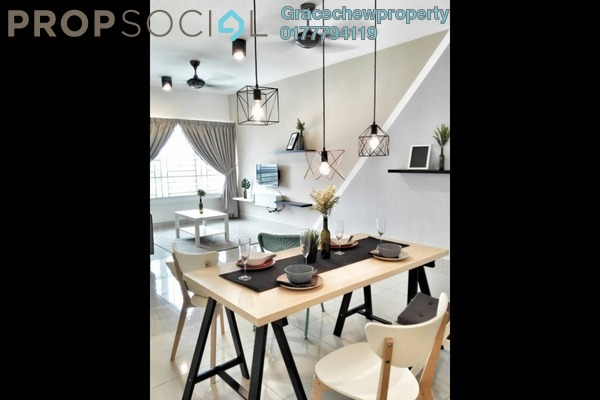 For Rent Apartment at Desa Idaman Residences, Puchong Freehold Fully Furnished 2R/2B 1.68k