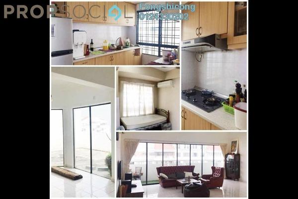 For Rent Condominium at Vista Millennium, Puchong Freehold Semi Furnished 3R/2B 1.3k