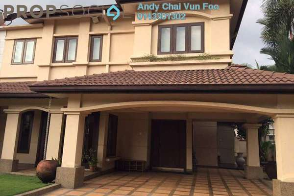 For Rent Semi-Detached at USJ 3A, UEP Subang Jaya Freehold Fully Furnished 5R/4B 5k