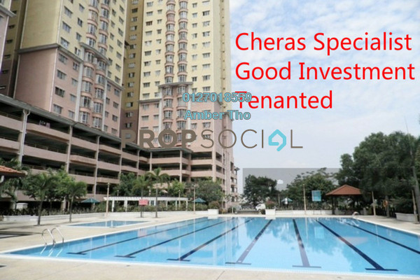 For Sale Condominium at Puncak Banyan, Cheras Leasehold Fully Furnished 3R/2B 341k