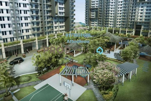 For Sale Condominium at Central Residence, Sungai Besi Freehold Fully Furnished 2R/2B 370k