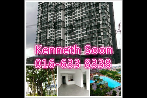 For Rent Condominium at D'Sands Residence, Old Klang Road Freehold Fully Furnished 4R/3B 2.3k