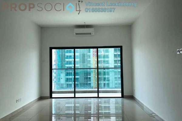 For Rent Condominium at Landmark II, Bandar Sungai Long Freehold Semi Furnished 3R/2B 1.4k
