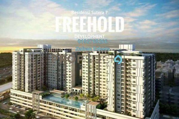 For Sale Serviced Residence at Taman Sutera, Kajang Freehold Unfurnished 3R/2B 307k