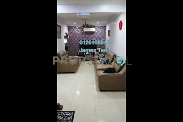 For Sale Terrace at Taman Sentosa, Klang Freehold Semi Furnished 3R/1B 370k