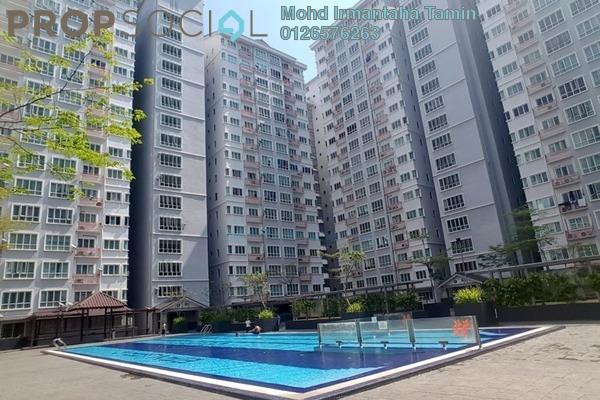 For Rent Condominium at Banjaria Court, Batu Caves Freehold Semi Furnished 3R/2B 1.5k
