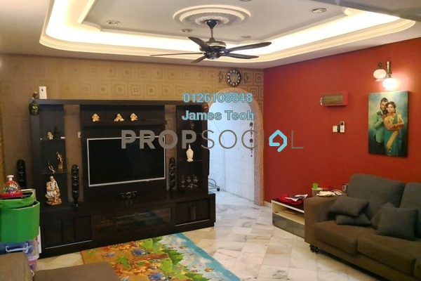 For Sale Terrace at Taman Meru, Klang Freehold Semi Furnished 3R/2B 360k