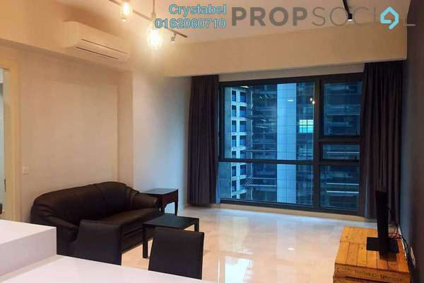 For Rent Condominium at Vogue Suites One @ KL Eco City, Mid Valley City Freehold Fully Furnished 2R/1B 2.6k
