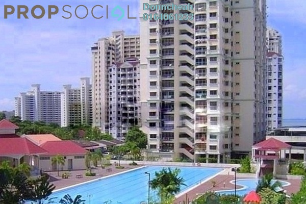 For Rent Condominium at Taman Kristal, Tanjung Tokong Freehold Fully Furnished 3R/2B 1.2k