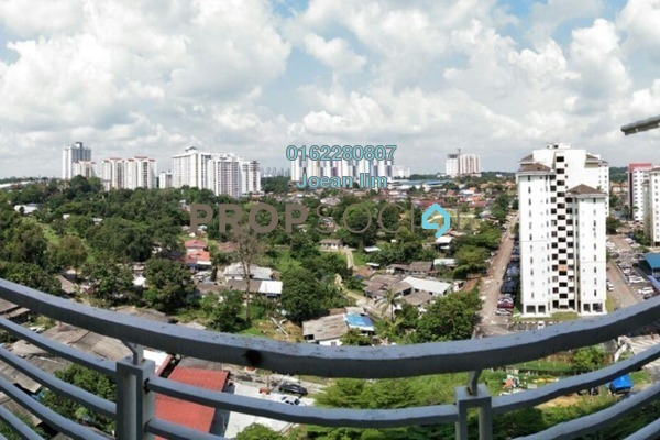 For Sale Serviced Residence at M'Tiara Apartment, Johor Bahru Leasehold Semi Furnished 3R/2B 330k