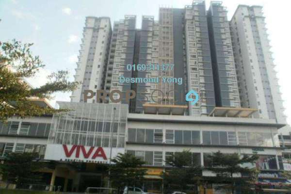 For Rent Condominium at Viva Residency, Sentul Freehold Fully Furnished 3R/2B 2.3k