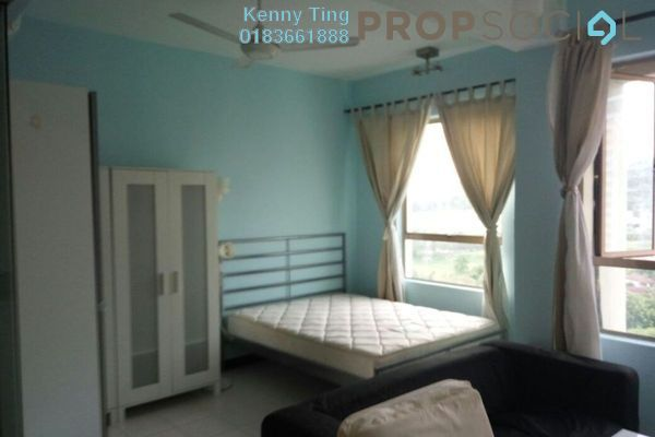For Rent SoHo/Studio at Ritze Perdana 1, Damansara Perdana Freehold Fully Furnished 0R/1B 1.2k