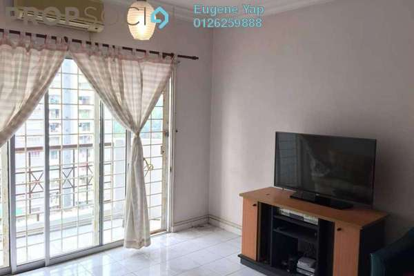 For Sale Condominium at Endah Ria, Sri Petaling Freehold Fully Furnished 3R/2B 400k