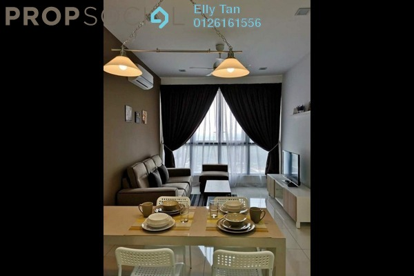 For Rent Serviced Residence at Eco Business Park I, Johor Bahru Freehold Fully Furnished 2R/1B 2.2k