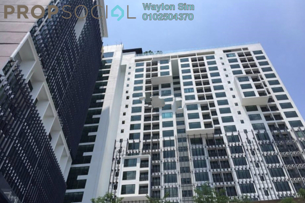 For Sale Condominium at Flexis @ One South, Seri Kembangan Freehold Fully Furnished 2R/2B 495k