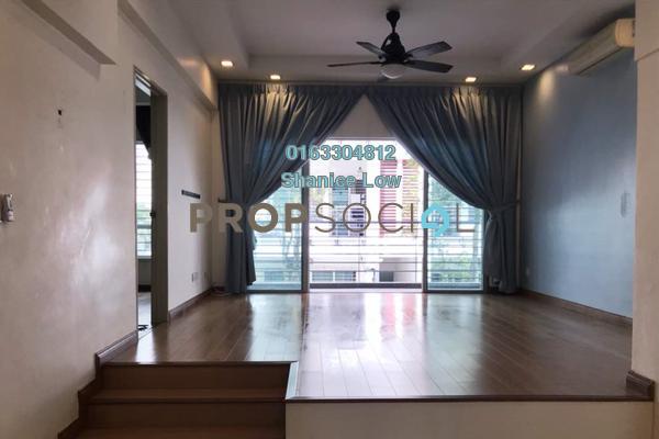 For Rent Apartment at Bayan Villa, Seri Kembangan Freehold Semi Furnished 3R/2B 1.3k