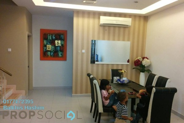 For Rent Terrace at Lestaria, Denai Alam Freehold Fully Furnished 4R/3B 2.4k