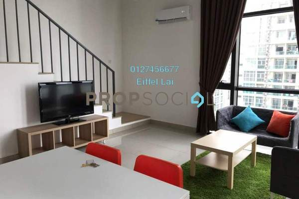 For Rent Condominium at Eclipse Residence @ Pan'gaea, Cyberjaya Freehold Fully Furnished 3R/2B 2.5k