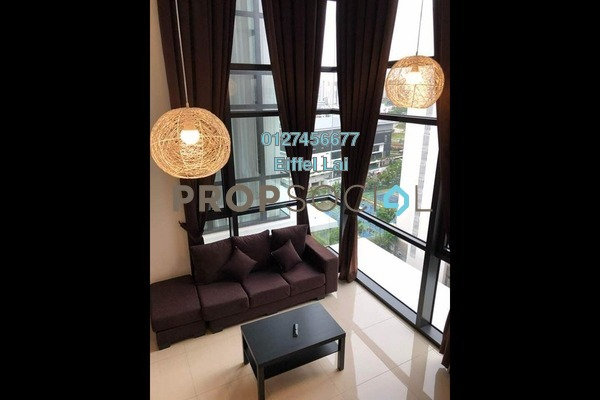 For Rent Condominium at Eclipse Residence @ Pan'gaea, Cyberjaya Freehold Fully Furnished 3R/2B 2.6k