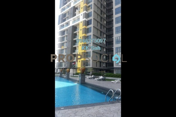 For Sale Serviced Residence at Silk Sky, Balakong Freehold Unfurnished 3R/2B 579k