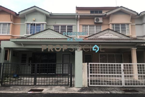 For Sale Link at Prima Saujana, Kajang Freehold Semi Furnished 4R/3B 608k