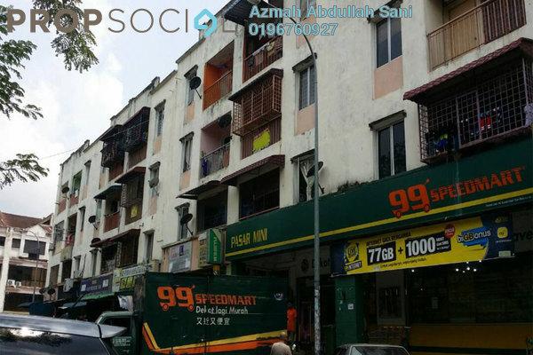 For Sale Apartment at Taman Kajang Utama, Kajang Freehold Unfurnished 3R/1B 110k