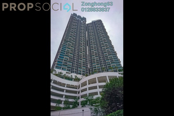 For Rent Condominium at Vogue Suites One @ KL Eco City, Mid Valley City Freehold Fully Furnished 2R/1B 2.9k