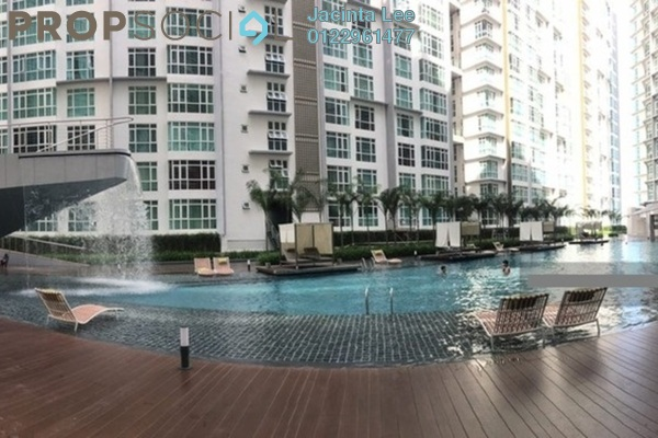For Sale Condominium at The Court, Sungai Besi Freehold Semi Furnished 3R/2B 394k