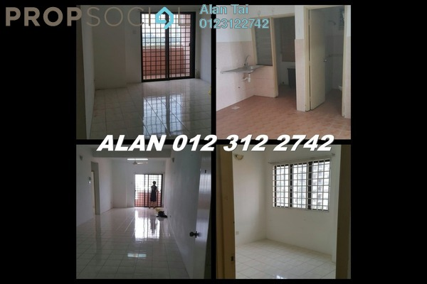 For Rent Apartment at Bougainvilla, Segambut Freehold Unfurnished 2R/2B 1.3k