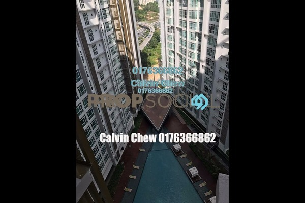 For Sale Condominium at Central Residence, Sungai Besi Freehold Unfurnished 3R/2B 474k