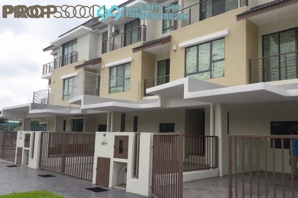 For Sale Terrace at Lakeside Residences, Puchong Freehold Unfurnished 4R/5B 928k