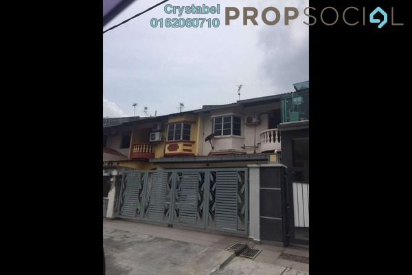 For Sale Terrace at Taman Jaya Baru, Cheras South Freehold Semi Furnished 3R/3B 650k