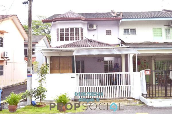 For Rent Terrace at Taman Sri Muda, Shah Alam Freehold Semi Furnished 4R/3B 1.6k