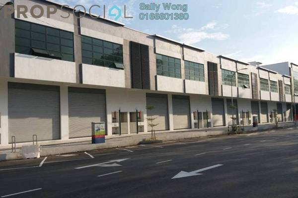 For Rent Factory at Taman Sri Muda, Shah Alam Freehold Unfurnished 1R/1B 4k