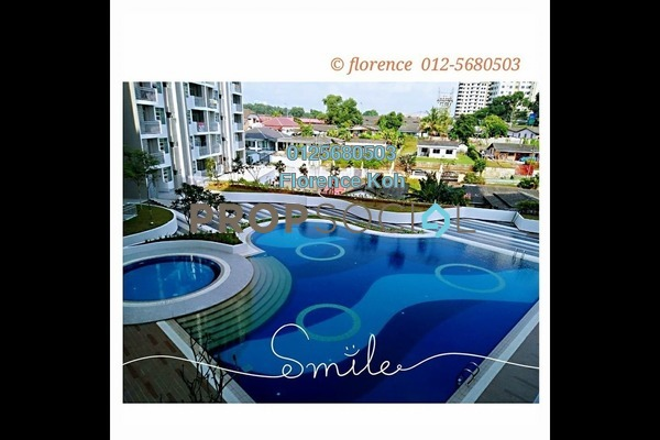 For Sale Apartment at Scott Towers, Johor Bahru Freehold Semi Furnished 3R/2B 370k