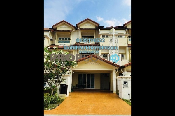 For Sale Terrace at Anjung Sari, Setia Alam Freehold Unfurnished 6R/5B 850k