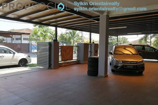 For Sale Semi-Detached at Seksyen 5, Bandar Bukit Mahkota Freehold Semi Furnished 6R/5B 800k