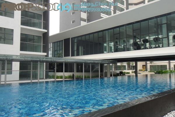 For Sale SoHo/Studio at Zeva, Bandar Putra Permai Freehold Fully Furnished 1R/1B 290k