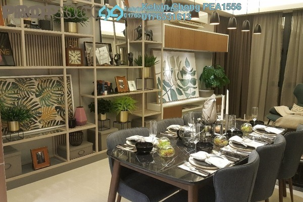 For Sale Condominium at Sentral Suites, KL Sentral Leasehold Semi Furnished 3R/3B 1.11m
