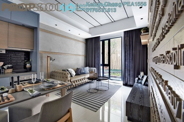 For Sale Condominium at Sentral Suites, KL Sentral Leasehold Semi Furnished 2R/2B 970k