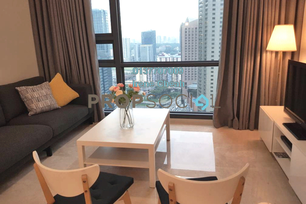 For Rent Condominium at Vogue Suites One @ KL Eco City, Mid Valley City Freehold Fully Furnished 1R/1B 3k