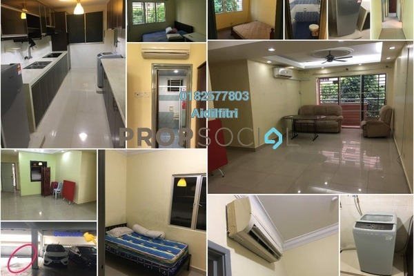 For Sale Condominium at Cengal Condominium, Bandar Sri Permaisuri Freehold Fully Furnished 3R/2B 450k