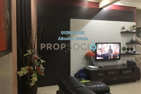 For Sale Terrace at Taman Subang Intan, Subang Freehold Semi Furnished 4R/3B 550k