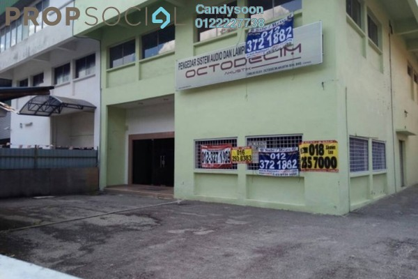 For Rent Factory at Taman Shamelin Perkasa, Cheras Freehold Semi Furnished 7R/5B 16.5k