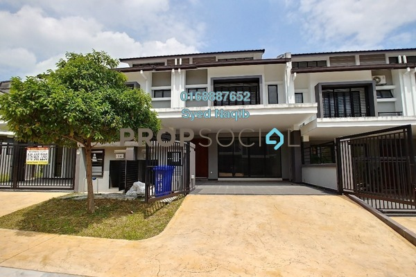 For Sale Terrace at Saffron Hills, Denai Alam Freehold Unfurnished 4R/3B 765k